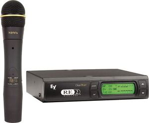 Electro-Voice RE2-N7 Wireless with EV 767a Dynamic mic