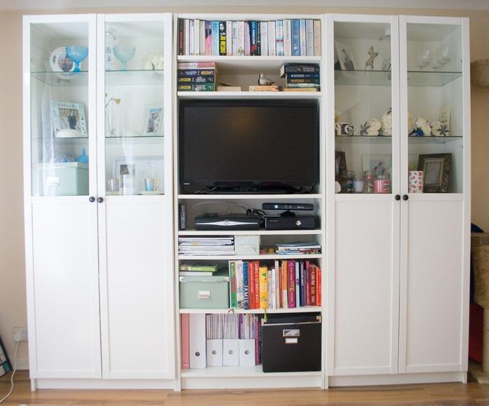 Ikea Billy Oxberg Deep 39cm Bookcase Display Cabinet Rrp