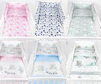Babylux Juego De Cama Protector Cuna Protección Cabeza Nido 210 X 30 Cm -  - ebay.es