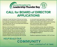 Leadership Thunder Bay is looking for Board of Directors
