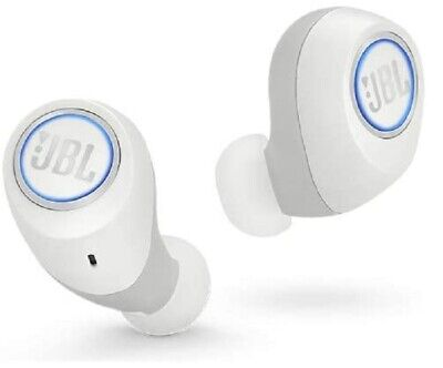 JBL Free X Wireless Headphones Bluetooth Earbuds White True Brand NEW