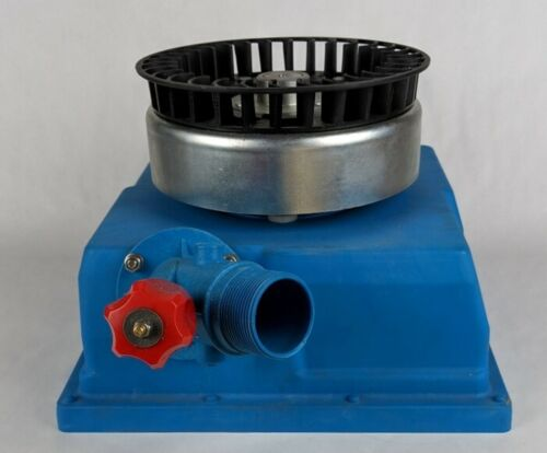 Micro Hydro Generator Kit 3-phase PM for DC Battery, Turgo Wheel, Adj. Nozzle