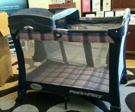 Graco Contour HG travel cot