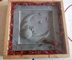 To  the Moon and Back.. Decorative stone plaque