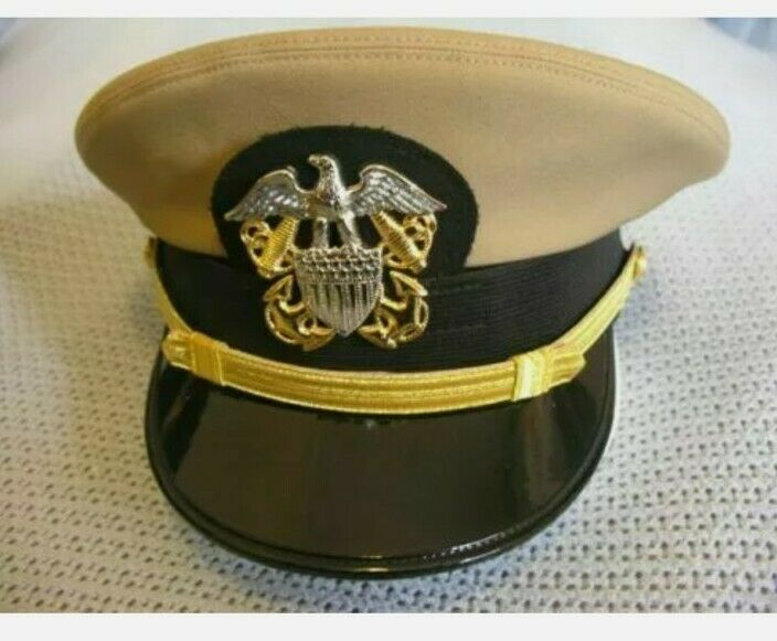 Replica US Navy Officer hat Tan High Quality