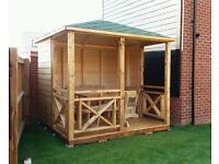 Hand made quality gazebo summer house