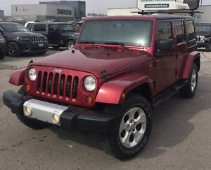 2013 Jeep Wrangler JK Unlimited Sahara $23,495