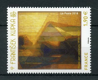 France 2018 MNH Frantisek Kupka 1v Set Art Paintings Stamps