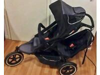 Phil and Ted Sport with Maxi Cosi car seat and more