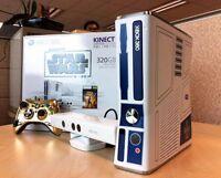 XBOX 360 EDITION LIMITÉE  STAR WARS.KINECT INCLUS!!!!!!!!