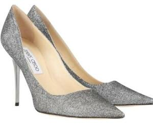 NWOT Auth. JIMMY CHOO Lame Glitter pumps - Size 36