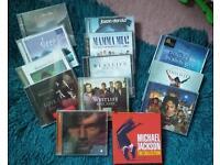17 CD'S bundle.