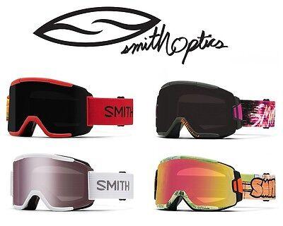 Smith Optics Squad Snowboard / Ski Goggles, Many Colors, New! SALE! Bonus (Smith Goggle Sale)
