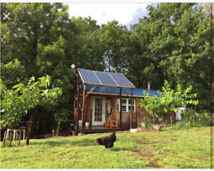 Looking for one acre to rent or buy for a small hobby farm