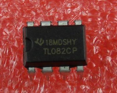 Ic Tl082 Tl082cp 8 Pin Dip Op Amp 5pcs Per Lot