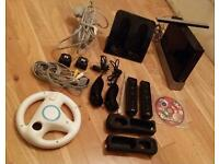 Nintendo Wii with Console, Controllers & much more