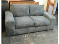 New jumbo cord 2 seater sofa plus matching footstool only £189