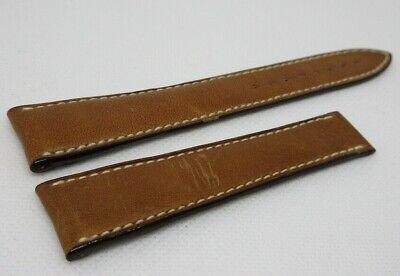 Blancpain 20mm Brown Leather Strap OEM Genuine