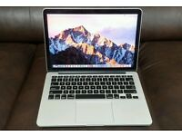Macbook pro 13inch Mid 2014 retina display Beautiful condition