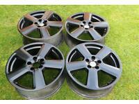 "Genuine Audi RS6 18"" 5x112 alloy wheels VW Audi Seat Skoda VAG"