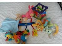 2 bundle of baby toys