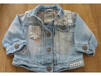 Next baby girls 3-6 months jacket