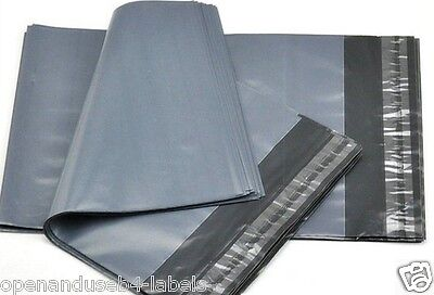 Strong Grey Self Sealing Postal Bags 152x229mm,100 A5 Plastic Polythene Packing