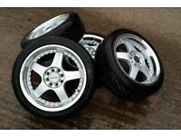 alloys 16 lenso wheels