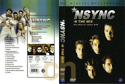 N SYNC, NSYNC- N The Mix  DVD NEW