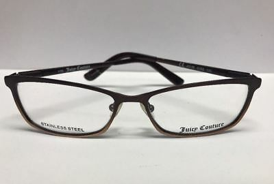 Juicy Couture 135 SS 01R6 Bronze Brown Womens Eyeglass Frames RX Authentic Italy Juicy Couture Brown Eyeglasses