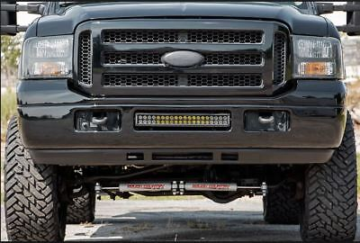 Ford Excursion Super Duty Punisher Black Ops Package Grille Headlights Set