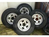 "15"" Alloy Wheels For Mitsubishi 4x4"