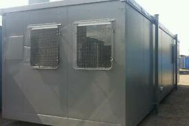 32ft Portable Cabin Portable Office Welfare Unit Portable Building Site Office Shipping Container