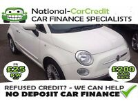 Fiat 500 1.2I LOUNGE S/S - FROM £25 PER WEEK