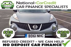 Nissan Juke 1.5 DCI ACENTA - GOOD / BAD CREDIT £25 PW - 100% GUARANTEED ACCEPTANCE