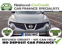 Nissan Juke 1.5 DCI ACENTA - GOOD / BAD CREDIT £25 PW - 100% GUARANTEED ACCEPTANCE