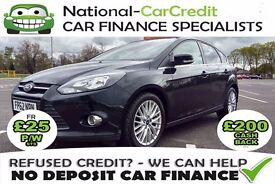 FORD FOCUS 1.6 TDCI - FROM £28 PER WEEK