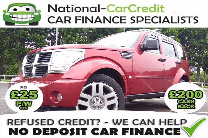 Dodge Nitro 2.8 CRD SXT 5dr - GOOD / BAD CREDIT £25 PW - 100% GUARANTEED ACCEPTANCE