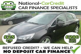 Vauxhall Astra 1.6 i VVT SRi - GOOD / BAD CREDIT £25 PW - 100% GUARANTEED ACCEPTANCE