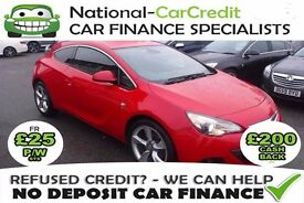 Vauxhall Astra 2.0 CDTI GTC - GOOD / BAD CREDIT £25 PW - 100% GUARANTEED ACCEPTANCE