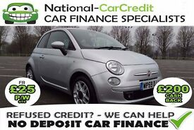 FIAT 500 1.3 MULTIJET - FROM £20 PER WEEK