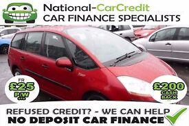 Citroen C4 Picasso 1.6 - GOOD / BAD CREDIT £25 PW - 100% GUARANTEED ACCEPTANCE