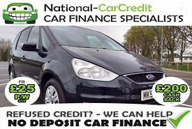 FORD GALAXY 1.8TDCI - GOOD / BAD CREDIT £25 PW - 100% GUARANTEED ACCEPTANCE