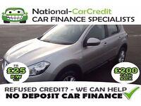 Nissan Qashqai 1.5 DCI - GOOD / BAD CREDIT £25 PW - 100% GUARANTEED ACCEPTANCE