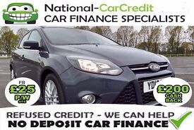 FORD FOCUS 1.0 ECOBOOST - FROM £34 PER WEEK