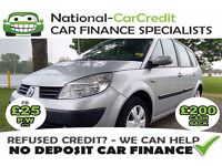 Renault Grand Scenic 1.6 VVT Oasis 5dr GOOD / BAD CREDIT £25 PW - 100% GUARANTEED ACCEPTANCE