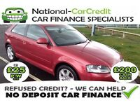 AUDI A3 2.0 TDI - GOOD / BAD CREDIT £25 PW - 100% GUARANTEED ACCEPTANCE