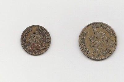 1  Franc und 50 centimes  Frankreich 1924 ( 1493)
