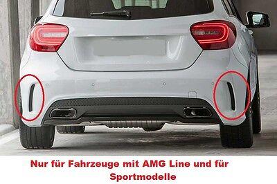 A 45 AMG Heckdiffusor Heckschürze Für Mercedes-Benz A-Klasse W176 Facelift