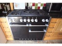 Mercury Dual Fuel Range cooker